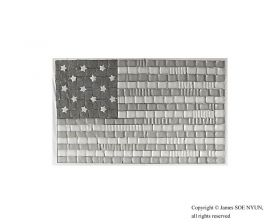 15-Star Flag (The Star-Spangled Banner) 1795-1818 (Spam and Yellow and White American Cheeses)