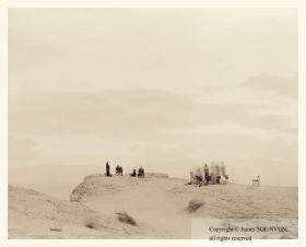 Tourists at Font�s Point, Anza-Borrego Desert State Park, California