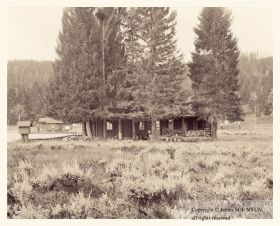 Ranger Station, Yellowstone National Park