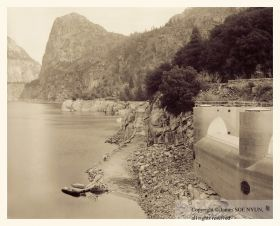 Hetch-Hetchy Reservoir from O'Shaughnessy Dam, Yosemite National Park