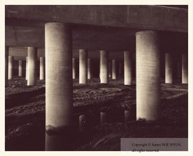 Overpass on I-5 over Pe�asquitos Creek, San Diego