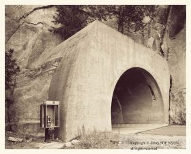 West Entrance to Wawona Tunnel, Yosemite National Park